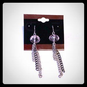 Jewelry - Light Pink Bead Drop/Dangle Earrings